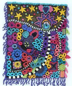 FRANKIE LEMONDE MEUNIER crochet wall art