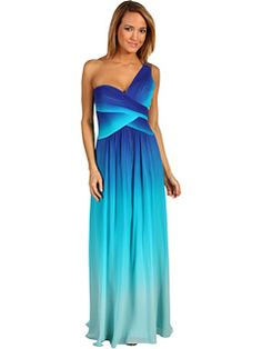 Bridesmaids Dress in islandy ombre! Just have a good support bra and you're all set!
