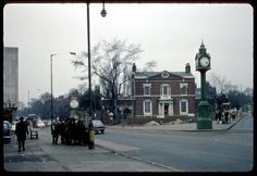 Five ways 1960 Calthorpe road to the left, Harborne road to the righr