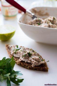 Rillettes de sardines et citron vert ( Aufstrich mit Sardinen und Limette ) | Französisch Kochen by Aurélie Bastian