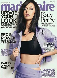 COVER: Katy Perry for Marie Claire UK, April 2014