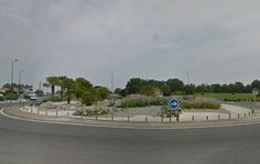Rond point de l'Ocean a Hagetmau (40)
