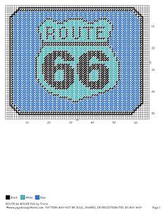 MOUSEPAD ROUTE 66