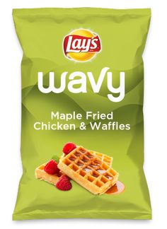 Wouldn't Maple Fried Chicken & Waffles be yummy as a chip? Lay's Do Us A Flavor is back, and the search is on for the yummiest flavor idea. Create a flavor, choose a chip and you could win $1 million! https://www.dousaflavor.com See Rules.