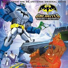 Original Motion Picture Soundtrack (OST) from the movie Batman Unlimited: Mechs vs. Mutants (2016). Music composed by Kevin Riepl.  Batman Unlimited: Mechs vs. Mutants Soundtrack by #KevinRiepl #BatmanUnlimited #soundtrack #DC http://soundtracktracklist.com/release/batman-unlimited-mechs-vs-mutants-soundtrack/