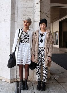 twinning nyfw-Bcouture blog