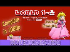 ▶ Super Mario 3D World - Complete 1- CASTLE - PEACH Gameplay