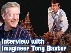 This week's WDW Radio show: Disney Imagineer Tony Baxter Interview & Disney Trivia Contest
