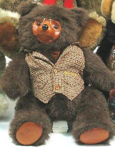 "AN ORIGINAL ROBERT RAIKES TEDDY BEAR, ""Sebastian"","
