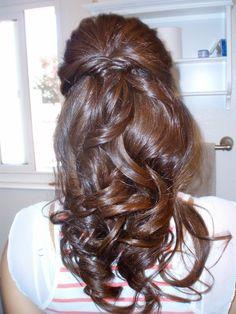 fishtail braided wedding hair | Fishtail Braid How-to