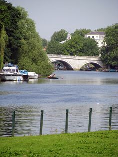 The river Thames and Richmond bridge - makes me feel homesick!