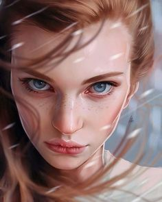 Inspirational Digital Painting of Anna Grekova, by Artist Aykut Aydoğdu A Court Of Wings And Ruin, A Court Of Mist And Fury, Character Portraits, Character Art, Girl Pose, Feyre And Rhysand, Fanart, Sarah J Maas Books, Throne Of Glass
