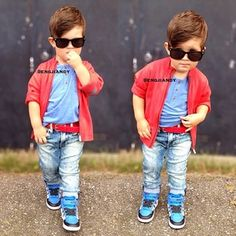 Omg i love this lil boy too swagged out
