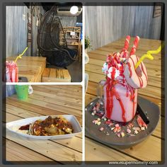 Freak Strawberry at The Barnyard Cafe Dasmariñas - http://www.esupermommy.com/2017/04/the-barnyard-cafe-dasmarinas/