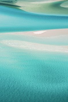 'Serene' Photographic Print by Kara Rosenlund. What I love about this image is the abstract nature of the intoxicating aqua hues. The natural, fluid, swirling form of the Hill Inlet makes this place unlike any other. This is nature's art - truly beautiful. © Kara Rosenlund Shop here: http://shop.kararosenlund.com/serene-photographic-print/