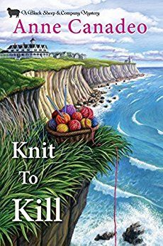 """Read """"Knit to Kill"""" by Anne Canadeo available from Rakuten Kobo. A relaxing girls' getaway turns deadly for the Black Sheep Knitters when a pushy killer is on the prowl . I Love Books, New Books, Good Books, Books To Read, Reading Books, Best Mysteries, Cozy Mysteries, Murder Mysteries, Mystery Novels"""