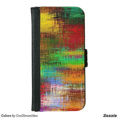 Colors Wallet Phone Case For iPhone 6/6s
