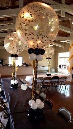 70th Birthday Party Decor Idea 30th 40th Centerpieces 50th Balloons