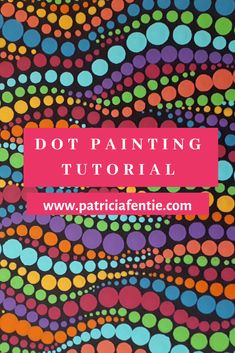 This FREE dot painting tutorial is very easy and fun to do. The abstract nature of this way of dotting is more of a free-form style of dot painting. Check it out! Dot Painting Tools, Dot Art Painting, Rock Painting Designs, Mandala Painting, Mandala Drawing, Aboriginal Dot Painting, Car Painting, Stone Painting, Mandala Painted Rocks