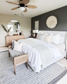 Cheap Home Decor .Cheap Home Decor Bedroom Decor For Couples, Home Decor Bedroom, Living Room Decor, Diy Bedroom, Scandi Bedroom, Bedroom Black, Romantic Bedroom Decor, Modern Master Bedroom, Interior Livingroom