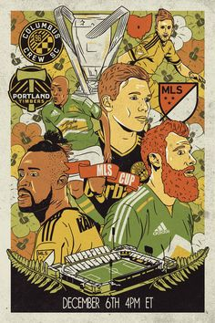 MLS Cup 2015, Columbus Crew - Portland Timbers