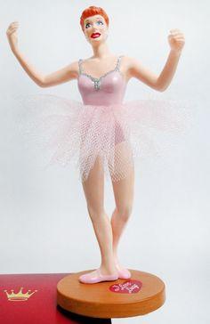 I Love Lucy the Ballet Hallmark Ornament 2004
