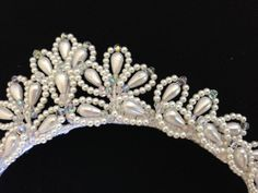 Irina Ballet Tiara  Made to Order