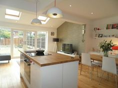 Image result for 3 bed semi kitchen extension