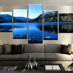 Wicklow - Glendalough Lower Lake Canvas Print Wall Art Wall Art Prints, Canvas Prints, Thing 1, Abstract Wall Art, House Decorations, Wall Ideas, 10 Days, Modern, Irish
