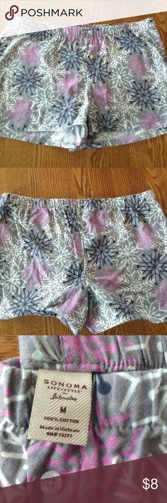Pj shorts 100% cotton new without tags Sonoma Intimates & Sleepwear Pajamas