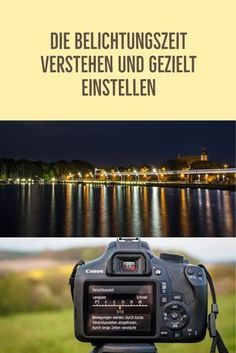 Understand the exposure time and adjust it specifically- Die Belichtungszeit verstehen und gezielt einstellen This article explains the exposure time and gives tips on how to adjust the exposure time. Vintage Photography, Photography Poses, Nature Photography, Exposure Photography, Photography Tutorials, Camera Aesthetic, Dslr Nikon, Empire Ottoman, Workout Aesthetic