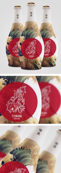 Tzunami Sakè by Emil