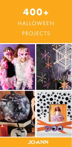 What's the trick without the treat? This collection of 400+ Halloween projects are just what you need to liven up your spooky bash.