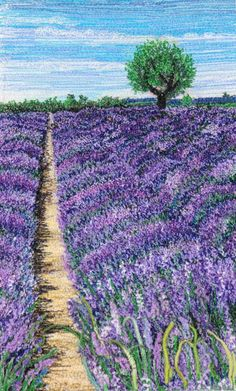 Mitra McQuilton Machine Embroidery Quilts, Embroidery Art, Cross Stitch Embroidery, Quilting, Cross Stitch Silhouette, Cross Stitch Art, Thread Art, Thread Painting, Landscape Art Quilts