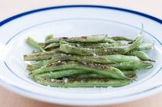 Perfect Pan-Roasted Green Beans. A healthy alternative to green bean casserole. Keep the thanksgiving tradition alive with these perfectly roasted green beans.