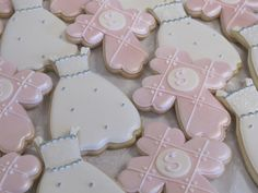 First Communion Cookies, Christening Cookies, Baptism Cookies, Cross and Dress Cookies