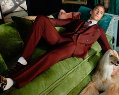 """""""Tom Hiddleston has many talents and chief among them, as far as we're concerned, is his uncanny ability to wear a suit really f#@king well"""" http://www.gq.com/story/gucci-tom-hiddleston-ad-campaign-suits?mbid=social_twitter"""