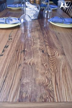 Heart Pine Table