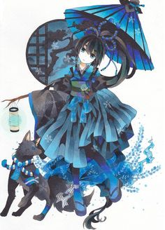 Anime picture original moputyan girl highres blue eyes black hair 2092x2908 274246 en