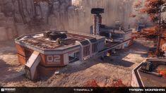 ArtStation - Titanfall 2 - MP Kodai, Tragan Monaghan