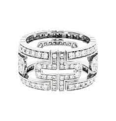 bvlgari bzero1 green marble 4 band ring in 18k rose gold link to the item