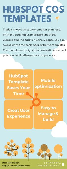HubSpot COS Creative Templates can surely save marketers numbers of hours by developing a website from scratch and / or thousands of dollars by paying someone else to do it for them.