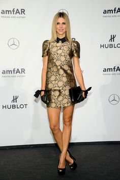 Nicoletta Romanoff arriving at the amfAR Gala during Milan Fashion Week, Spring/Summer 2014 - Sept 21, 2013 - Photo: Run