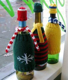Wine Bottle Accessories by starathena, via Flickr
