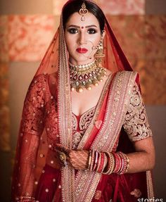 Balinesa by Andrea Montis Cano on Indian Bridal Fashion, Indian Bridal Makeup, Asian Bridal, Indian Wedding Outfits, Bridal Outfits, Indian Outfits, Bridal Dresses, Indian Attire, Indian Weddings
