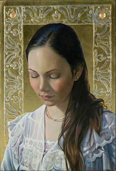 Fred Wessel EGG TEMPERA - like the decorative edging