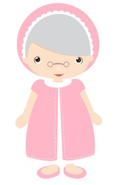 Cute Cliparts ❤ Minus - Grandma Nana Abuela Say Hello! Le Gui, Red Riding Hood Party, Little Red Ridding Hood, Flannel Board Stories, Growing Old Together, Art Anime, Cute Clipart, Love Images, Punch Art