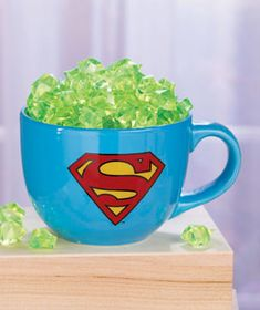 Fans of Disney, Star Wars, DC, Marvel or Nickelodeon will enjoying eating their soup out of this 24-Oz. Licensed Soup Mug. The stoneware mug features the face or logo of their favorite character and makes an excellent gift!