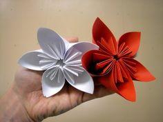 DIY Paper Flowers: How to Make Beautiful & Super Easy Paper Flowers | Kusudama Flower - YouTube