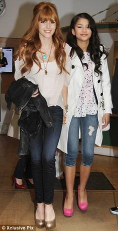 Bella Thorne & Zendaya, my daughter is two & she absolutely loves them. She calls them Rocky & Ci Ci of course. #ShakeItUp